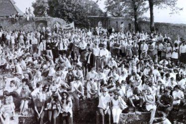 Open Air Geschichte als Buch:  Burg Herzberg Festival – since 1968