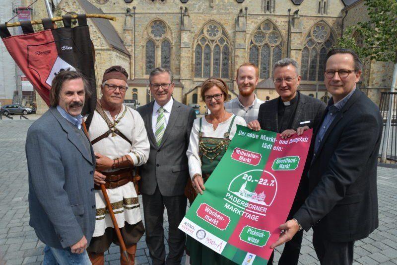 Tradition trifft Moderne: Paderborner Markttage 2018