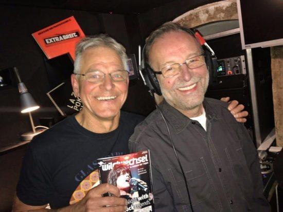 Eintanzen im Treibhaus: Die beiden Ur-DJs aus der Gründerzeit des Treibhaus freuten sich über den Zuspruch