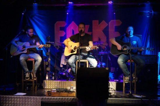 Rock und Blues mit MAUS, Fat Cats und FA/KE im Sägewerk