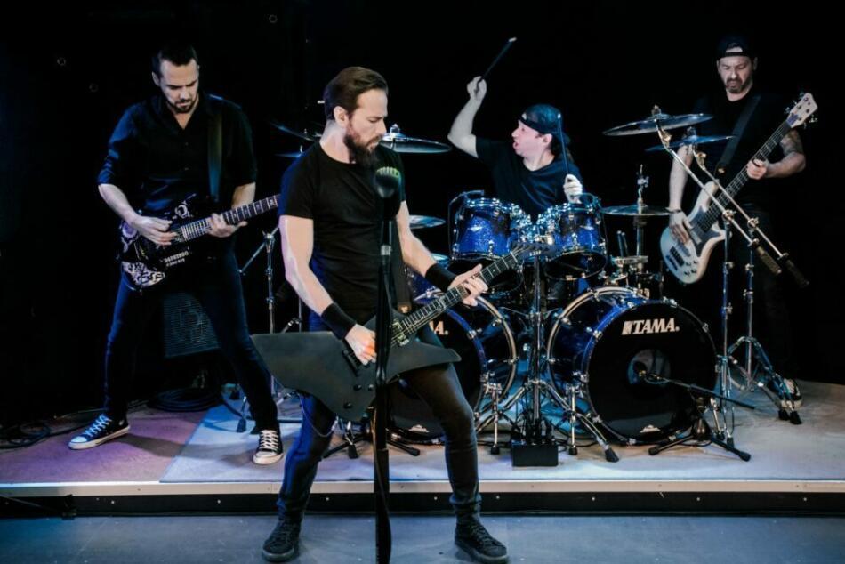 My'tallica sind eine der profiliertesten deutschen Metallica-Tribute-Bands und traten 2020 in Homberg (Efze) auf. Sieht und hört man!