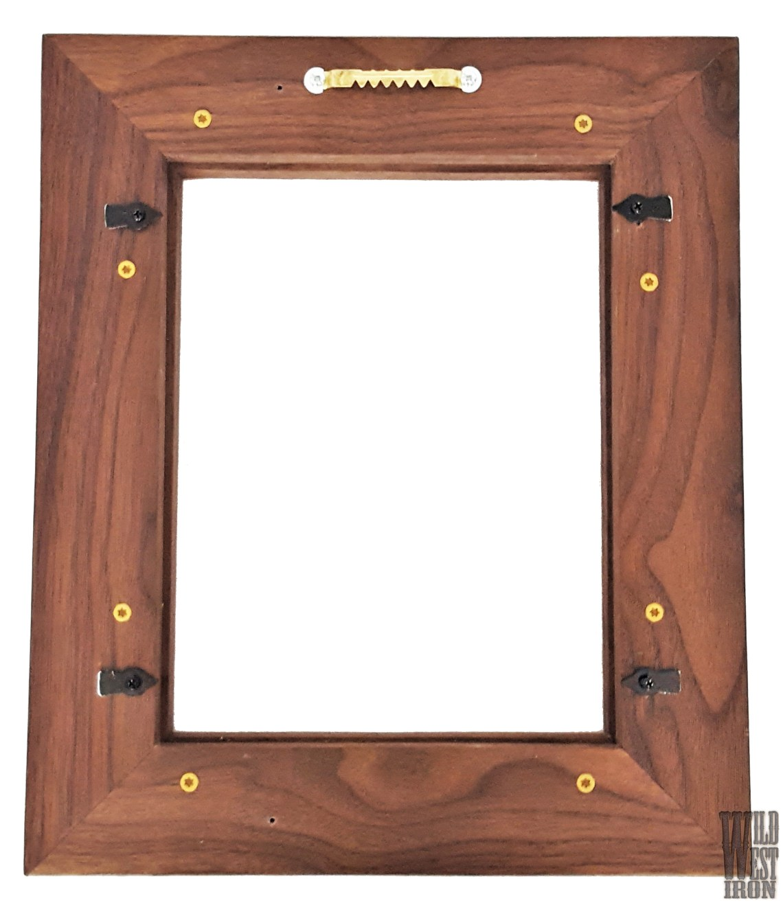 Walnut Picture Frame with One Braid Back