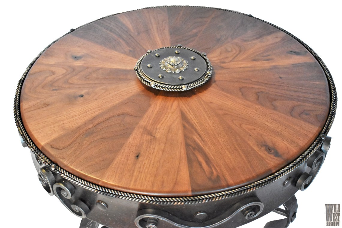 Round Coffee Table Variation Five Top