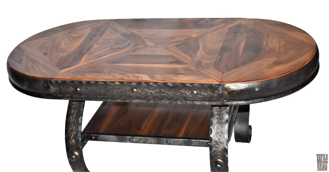 Oval Coffee Table Variation Two Top