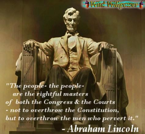 Lincoln Memorial Quote