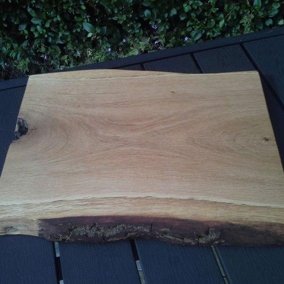 Hardwood Cheese / Breadboard. Oak