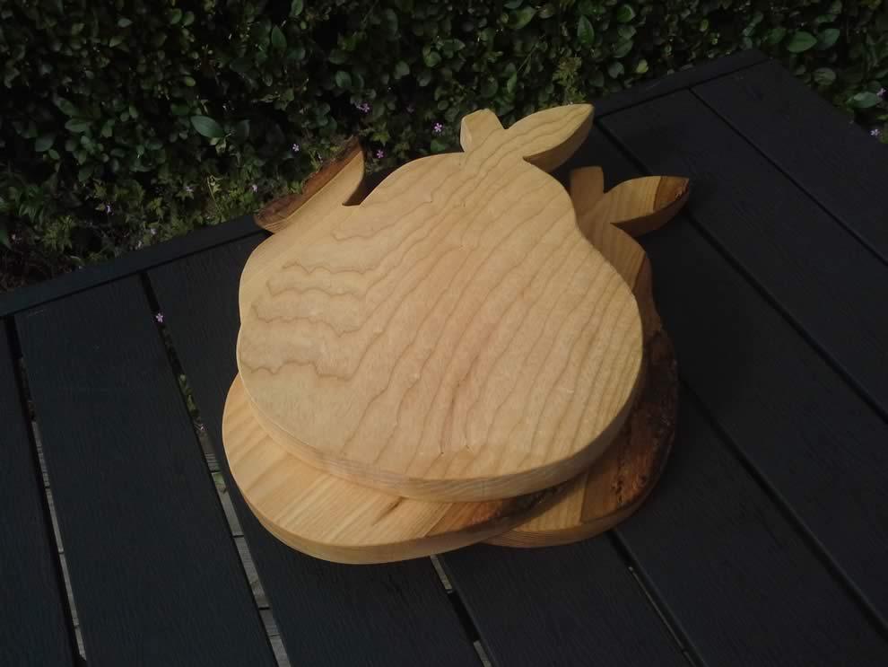Hardwood Pear Cheese Breadboard Ash