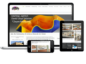 Arts non profit website
