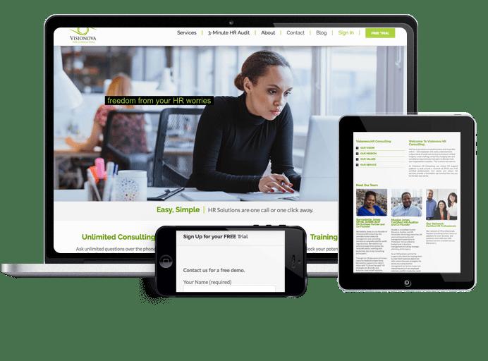 Visionova Website