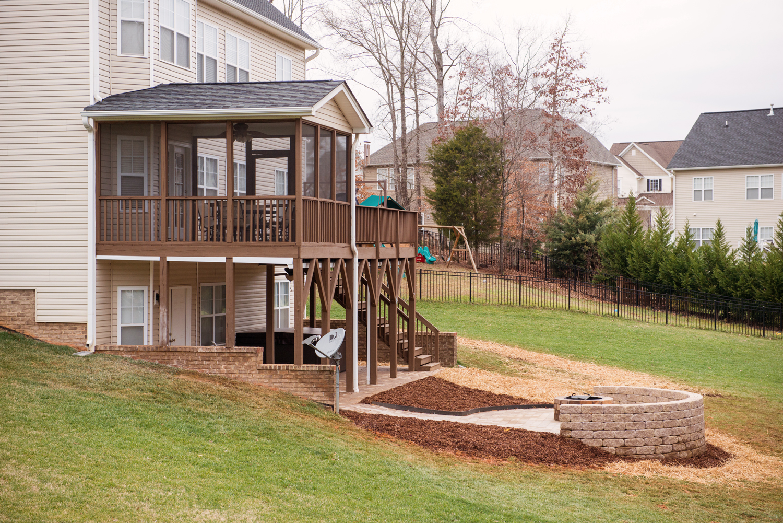 Walkout Patio - Wildwood Timbers - Burlington, NC ... on Walkout Patio Ideas id=46551