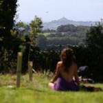 meditating looking at the Tor