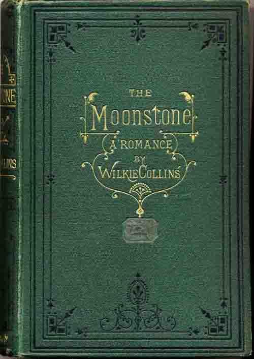 """Edición de 1871 de """"The Moon Stone"""""""