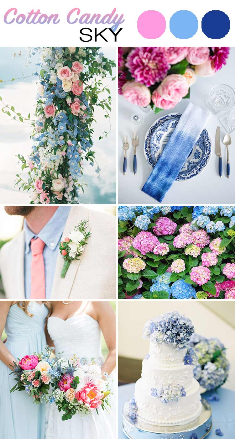 The Top 5 Color Palettes For Your Summer Wedding