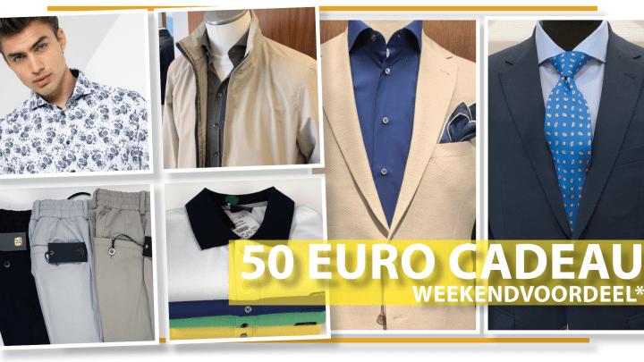 50 euro Weekendvoordeel