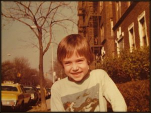 Michael Friedland, childhood photo