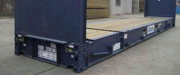 flat-rack containers