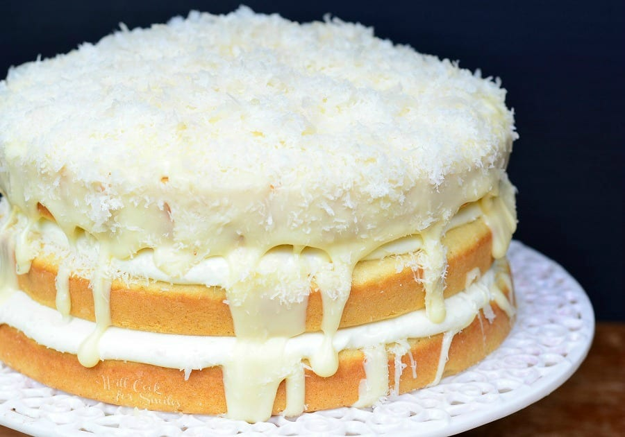 White Chocolate Coconut Cake Will Cook For Smiles