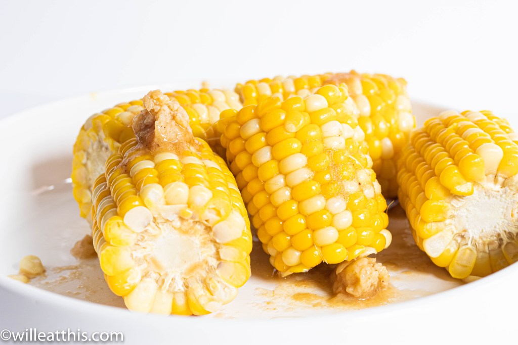 Corn with Miso Lime Butter