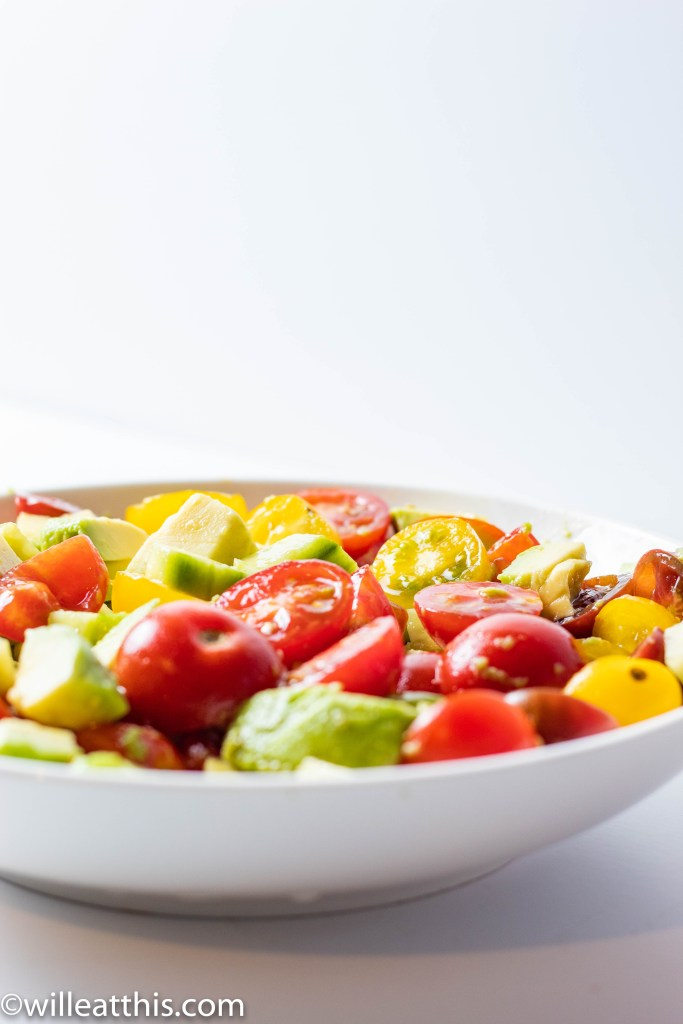 Tomato Salad dressed in Soy sauce and fish sauce