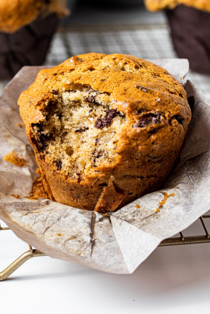 Chocolate Chip Buttermilk Banana Bread