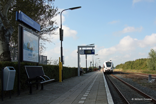 Station Roodeschool - Willem Croese