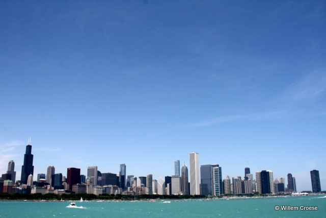 Skyline Chicago - Willem Croese