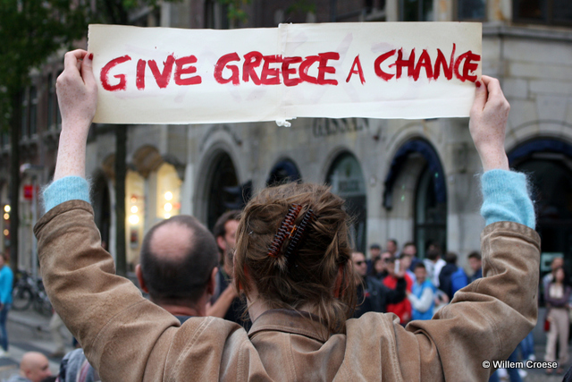 Give Greece A Chance Amsterdam - Willem Croese