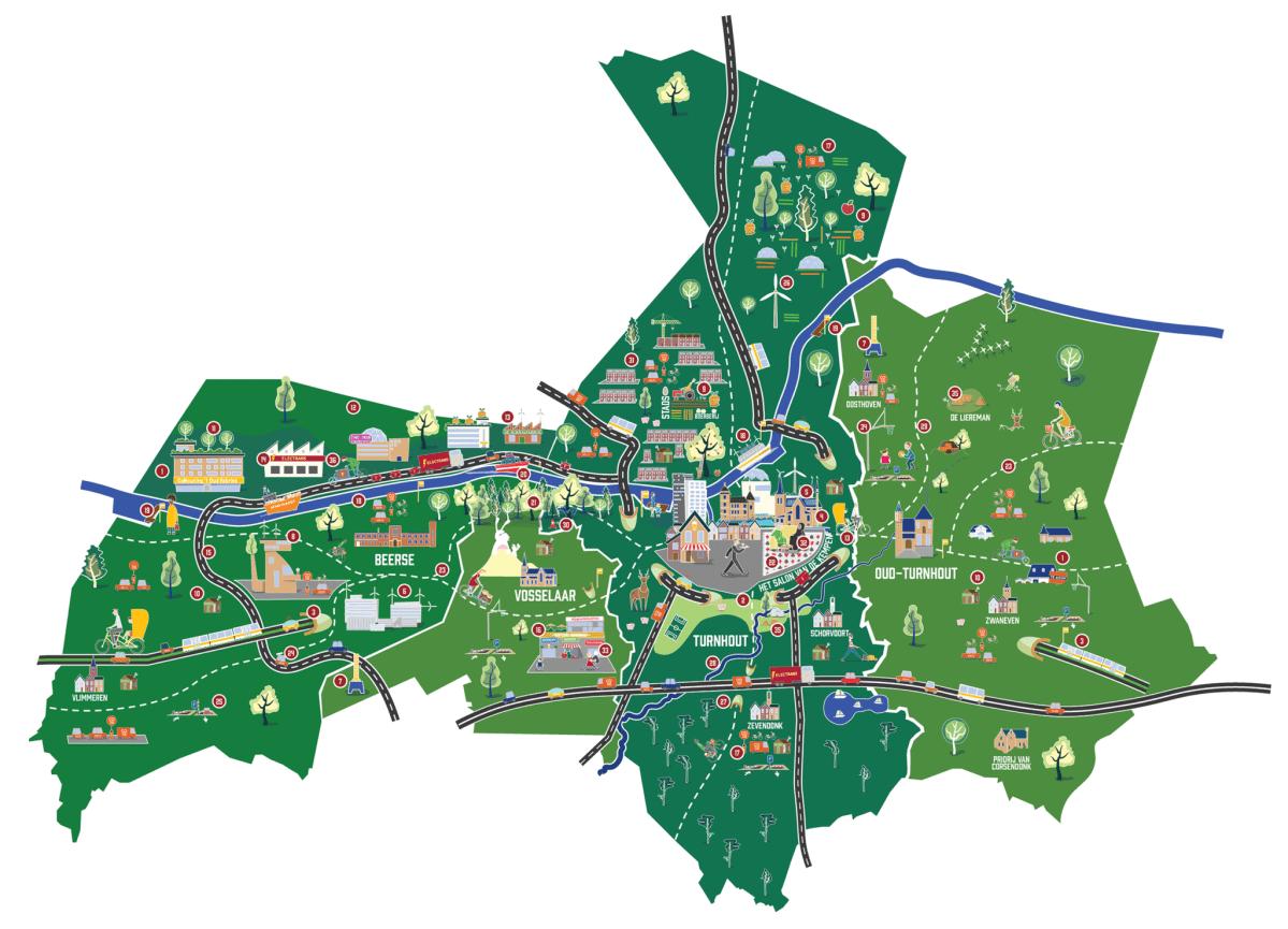 Stadsregio Turnhout in 2040