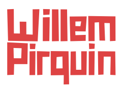 Willem Pirquin - Header text logo