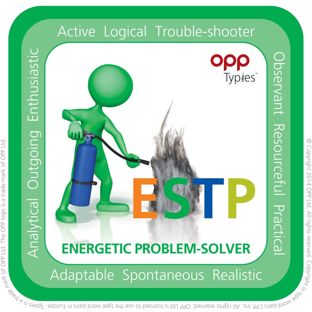 ESTP Typie, willerby hill hr, hr advice hull, mbti east yorkshire, mbti hull