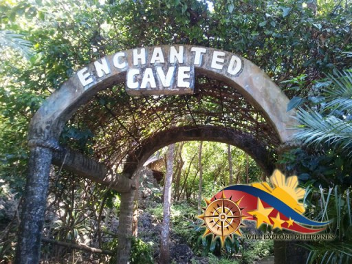 Enchanted Cave at Bolinao Pangasinan Entrance