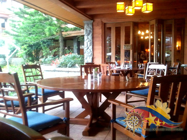 Le Chef Dining Area at The Manor Camp John Hay Baguio City