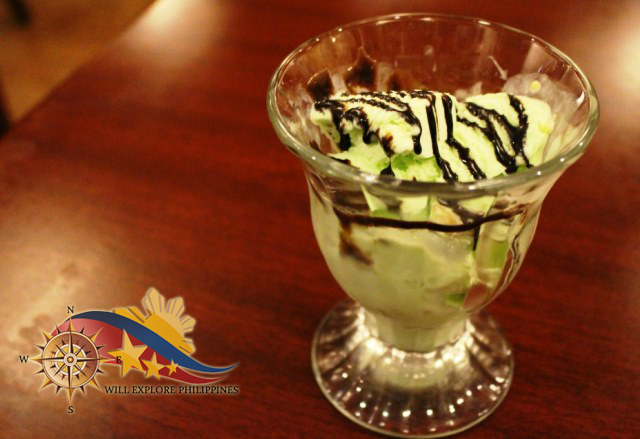 Pistachio Ice Cream Dessert Gustav Cafe Angeles City