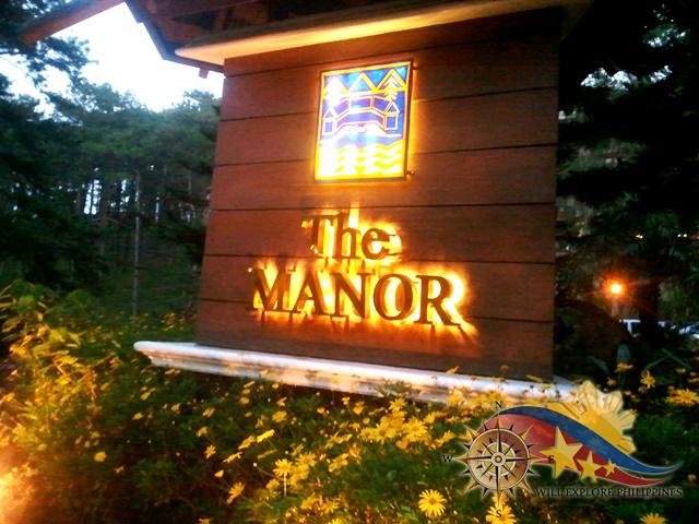 The Manor Camp John Hay Baguio City Entrance
