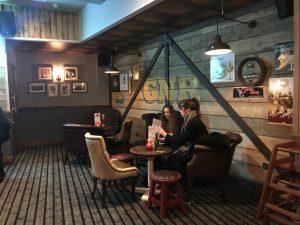 inside The Head of Steam Nottingham
