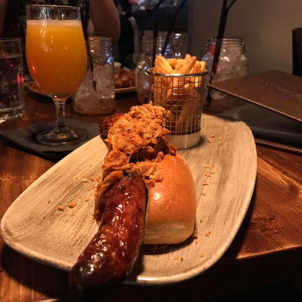 foot long hot dog