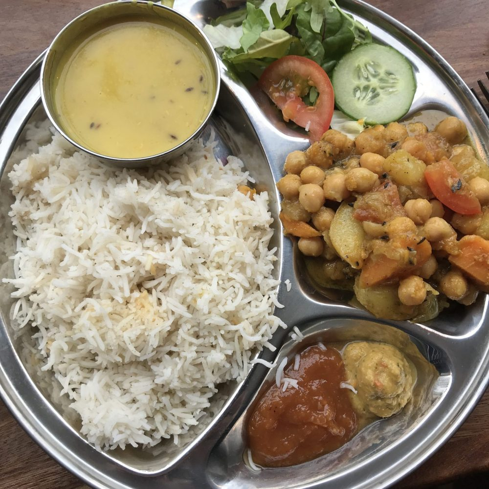 thali at Phat Yaks Bath