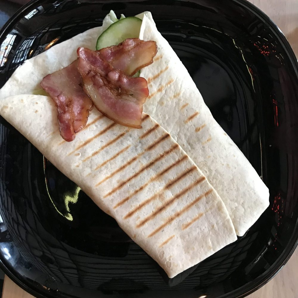 Bacon & Egg wrap