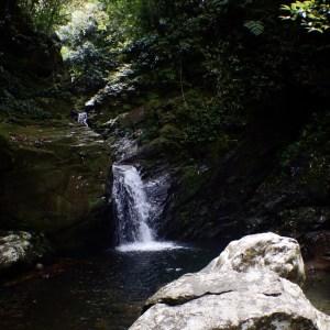 Waterfall at Bach Ma National Park