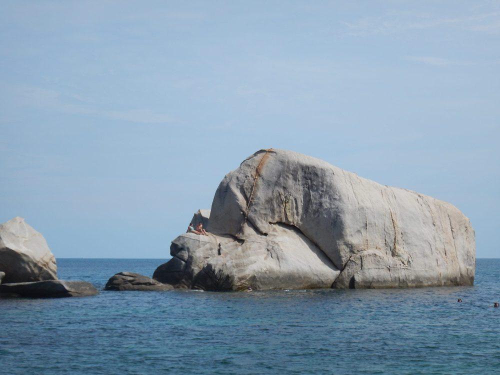 Tanote Bay rock