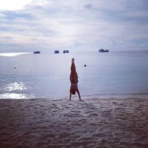 Beach on koh Tao