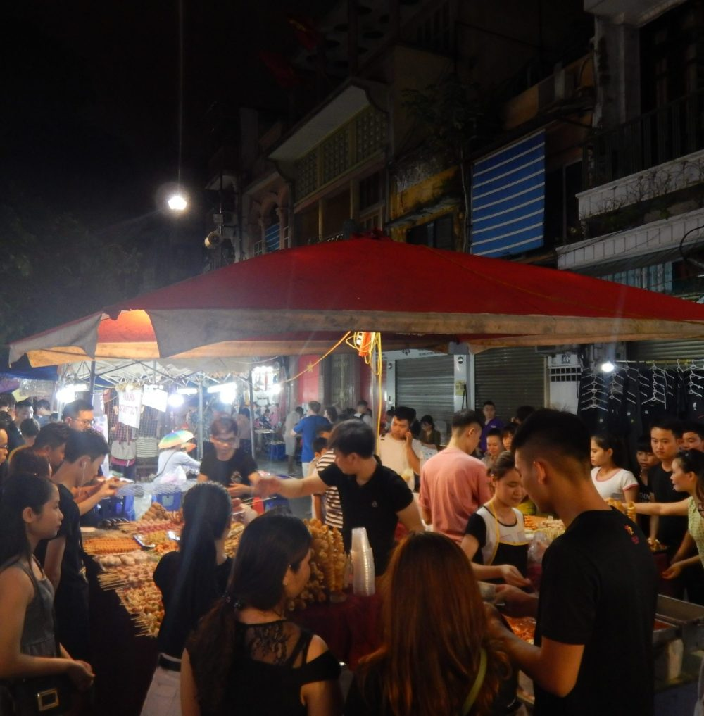 Food stall Hanoi