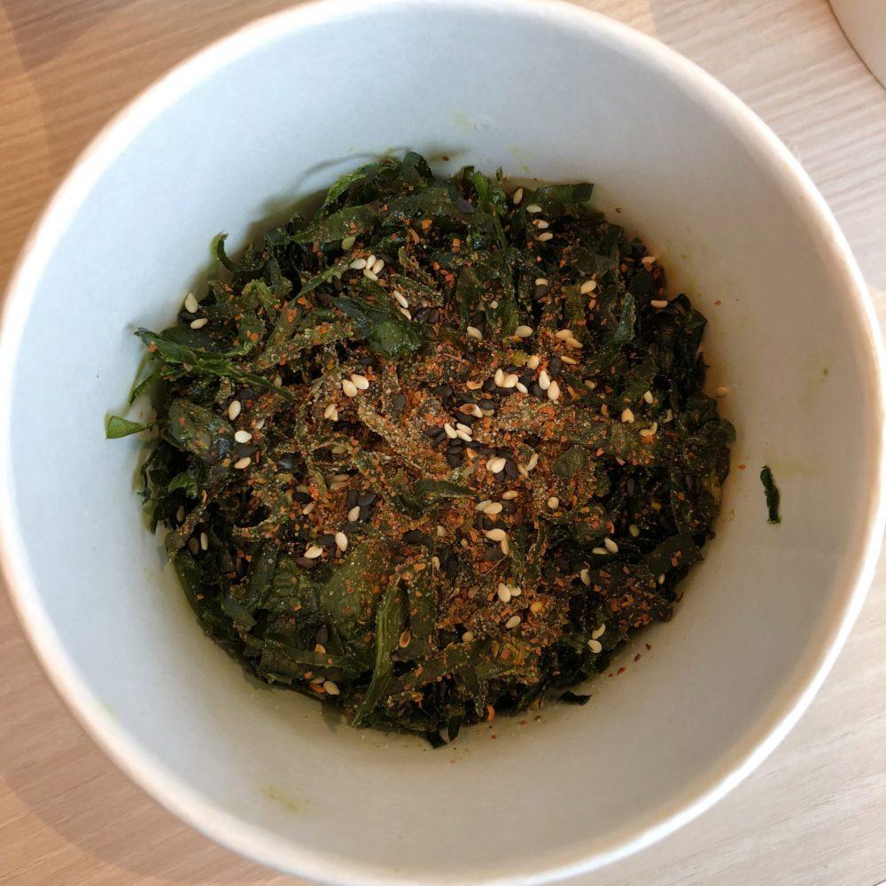 crispy seaweed