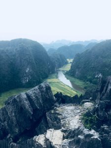 View of Tam Coc