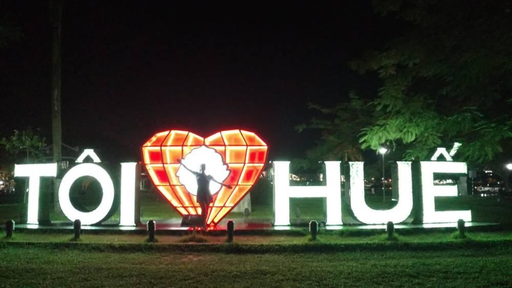 I Love Hue Sign