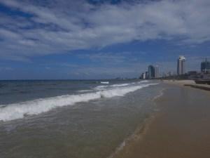 The gorgeous beach