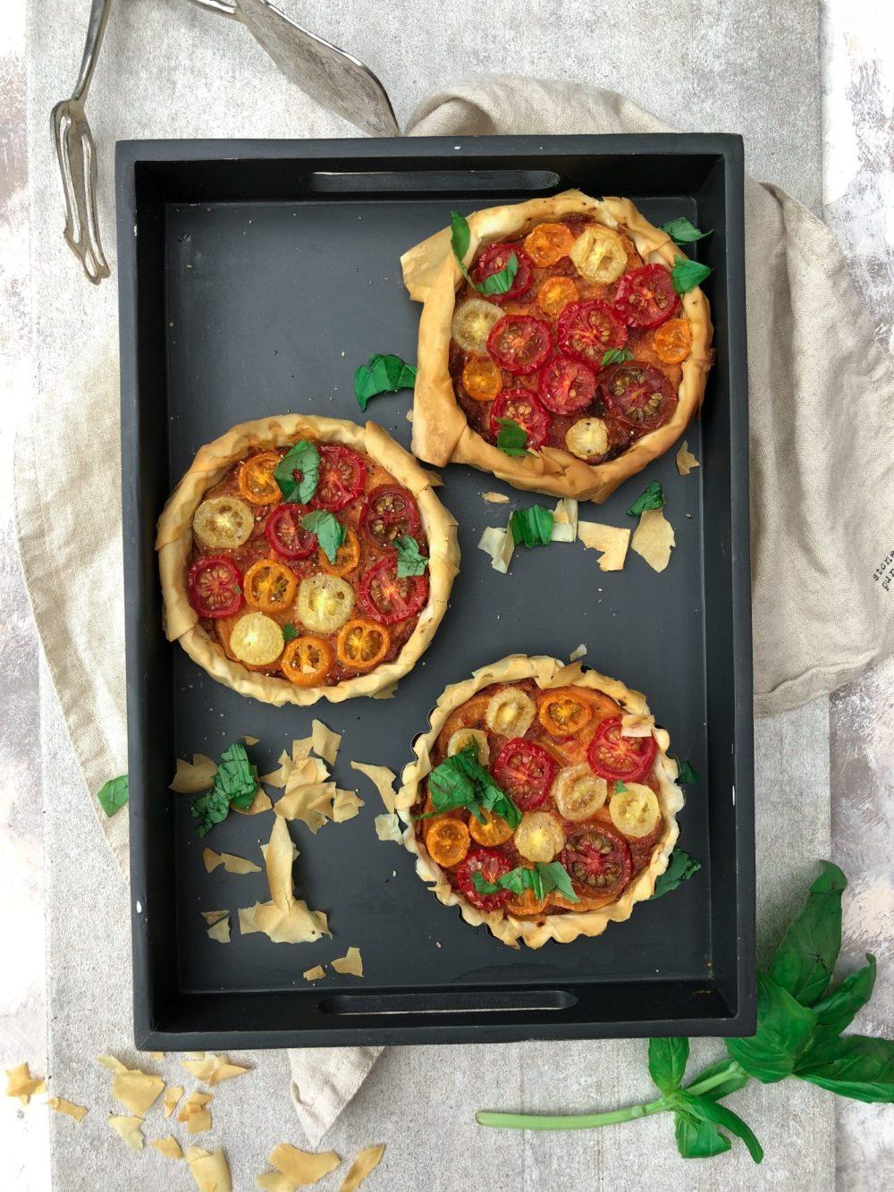 Vegan Pesto Tart