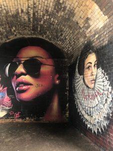 Birmingham Digbeth Graffiti Art by Justin Sola