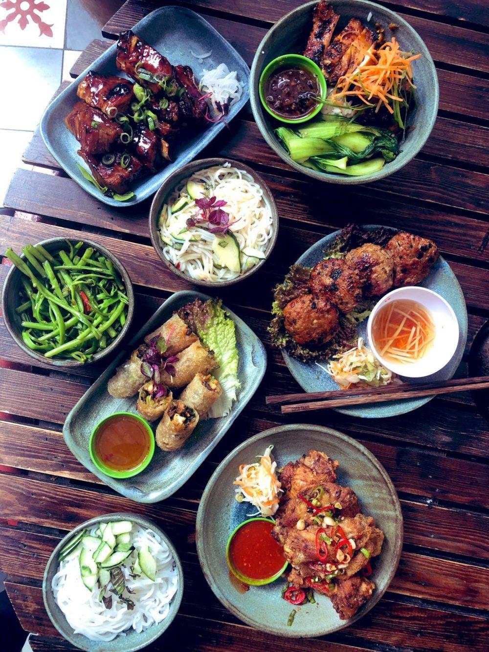 Food at Cafe Coco Tang