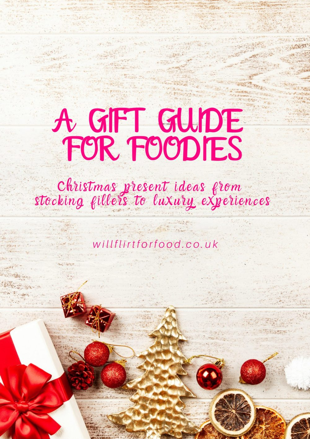 A gift guide for foodies